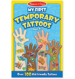 Melissa & Doug My First Temporary Tattoos - Blue