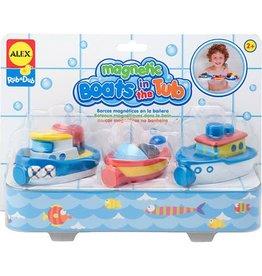 Alex Brands Alex Bath Magnetic Boats in the Tub