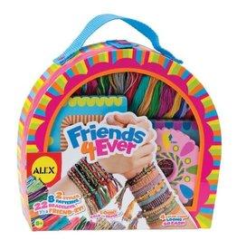 Alex Brands Friends 4 Ever Bracelet Kit
