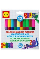 Alex Brands 12 Color Changing Markers