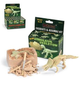 GeoCentral Mini Dig Kit - Glow Dinosaurs (Varies)