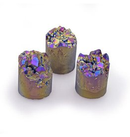 GeoCentral Frosted Purple Titanium Cylinder (sold individually)