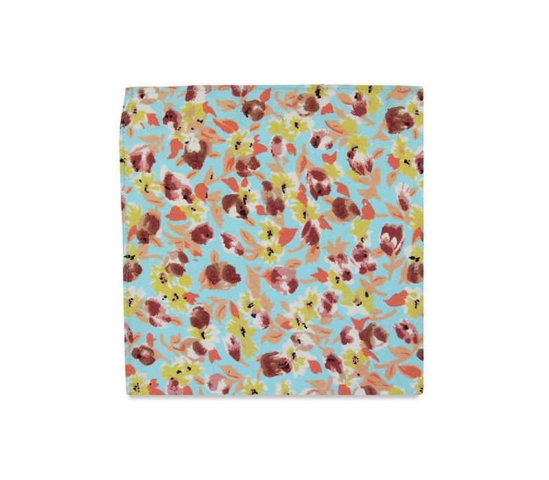 The Brianne Floral Pocket Square