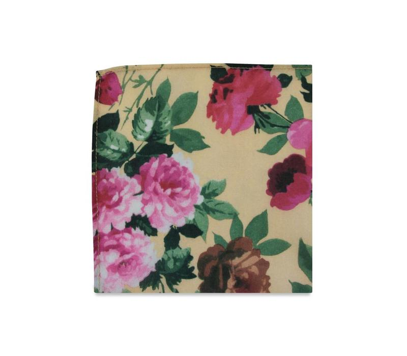 The Camila Floral Pocket Square