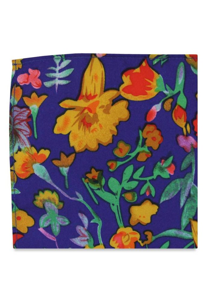 The Eva Floral Pocket Square