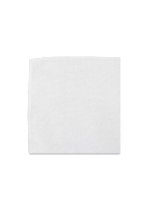 Pocket Square Clothing The Ellington White Pocket Square