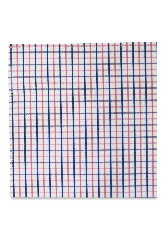 The Chase Gingham Pocket Square