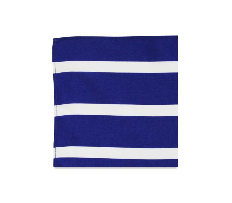 The Owen Stripe Pocket Square