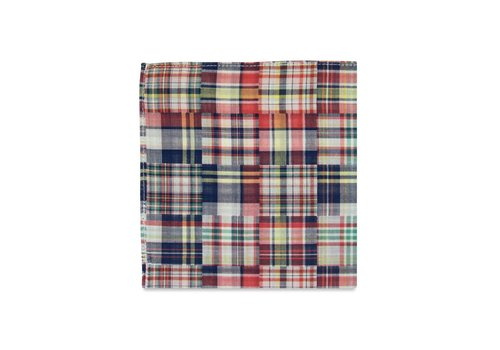 Pocket Square Clothing The Madras Pocket Square