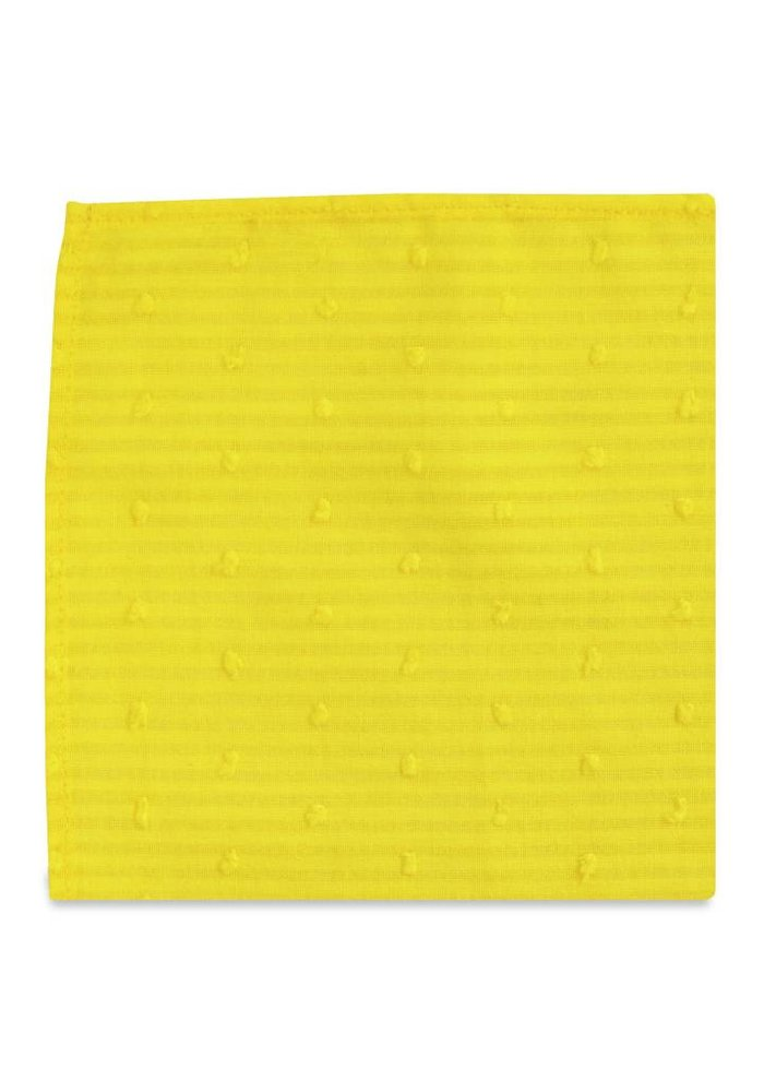 The Daffodil Yellow Pocket Square
