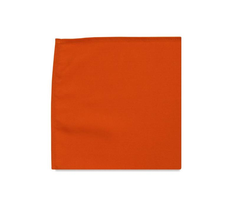 The Marigold Orange Pocket Square