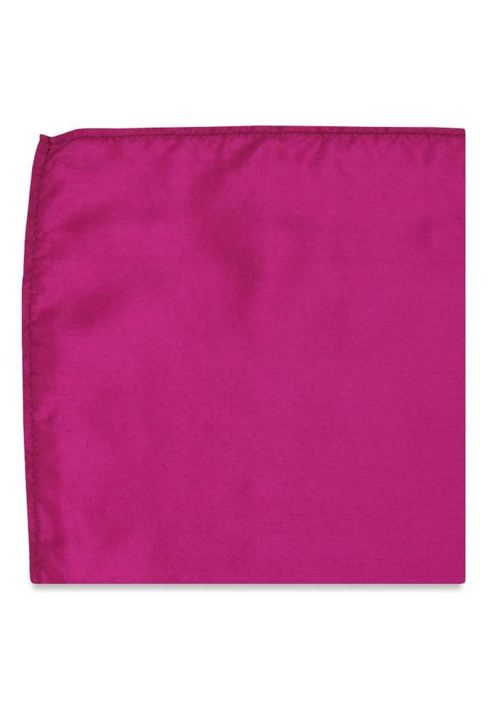 The Tulip Magenta Pocket Square