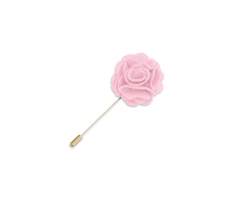 Light Pink Floral Lapel Pin