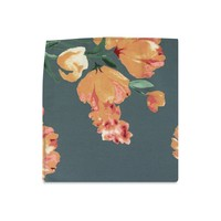 The Daniella Ash Blue Floral Pocket Square