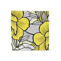The Daphnie Yellow Floral Pocket Square