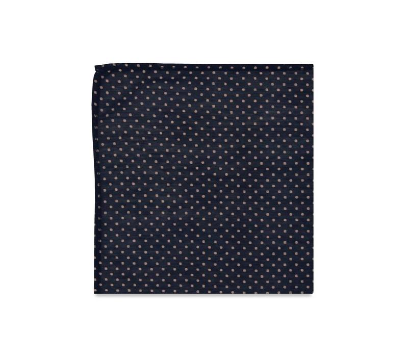 The Rosalyn Polka Dot Pocket Square
