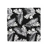 Pocket Square Clothing The Paulo Black Tropical Pocket Square