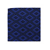 Pocket Square Clothing The Riley Blue Geometric Pocket Square