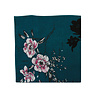 Pocket Square Clothing The Phillipa Teal Floral Pocket Square
