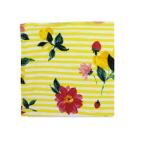 The Petra Yellow Floral Pocket Square