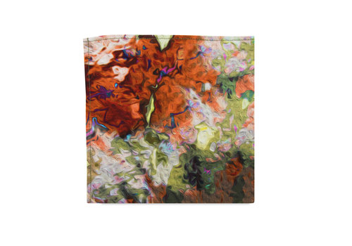 Pocket Square Clothing The Monet Pocket Square