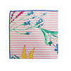 Pocket Square Clothing The Shannon Striped Floral Pocket Square