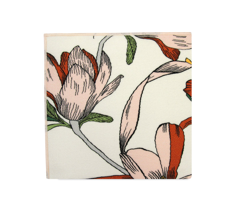 The Sonia Crepe Floral Pocket Square
