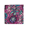 Pocket Square Clothing The Emma Purple Floral Pocket Square
