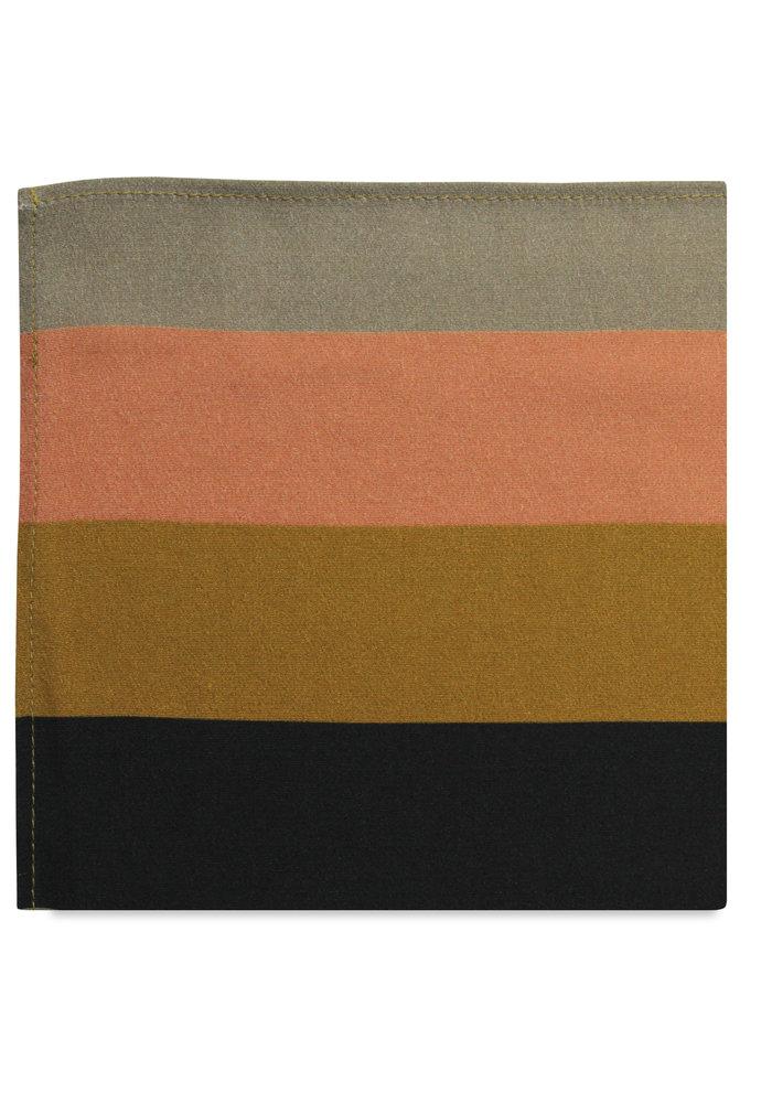 The Zoe Striped Pocket Square