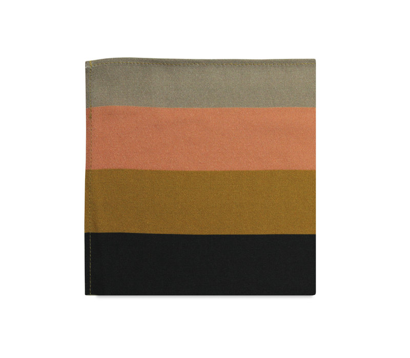 The Zoe Striped Pocket Square