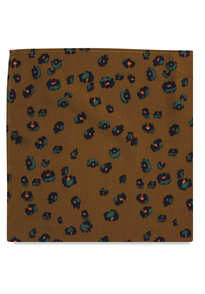 The Gracie Floral Pocket Square