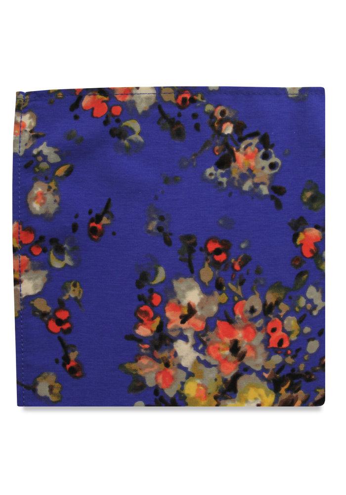 The Orla Blue Floral Pocket Square
