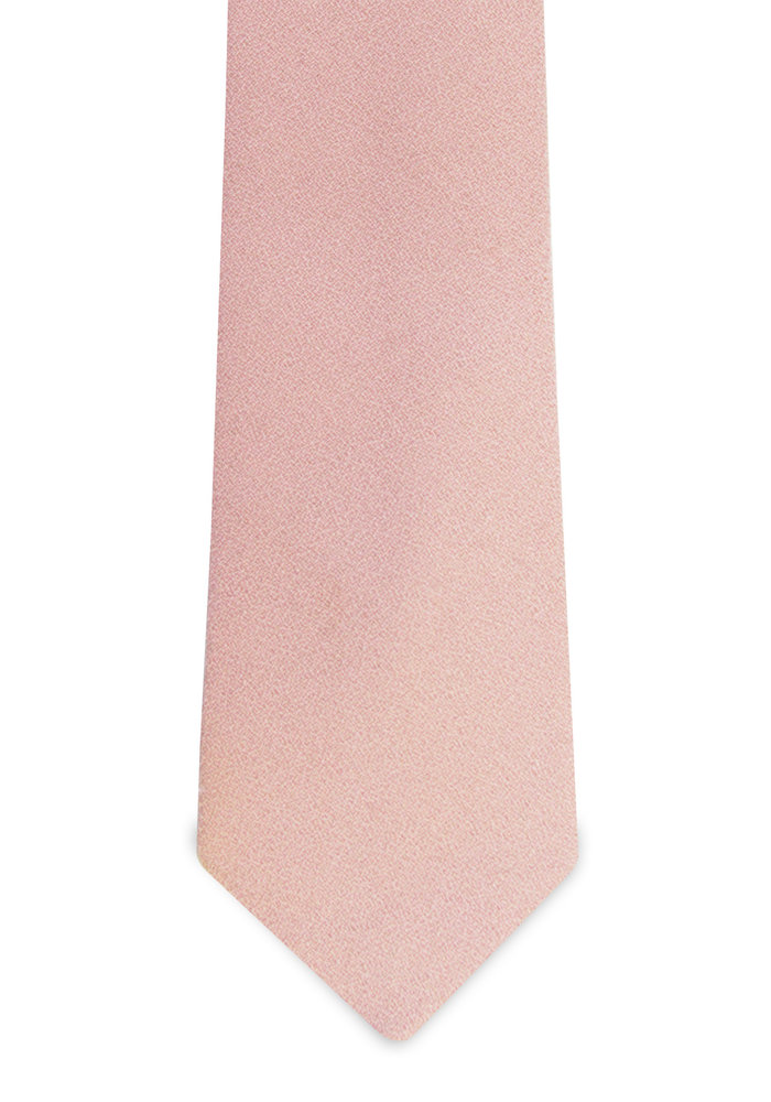 The Ellis Pink Wool / Silk Tie