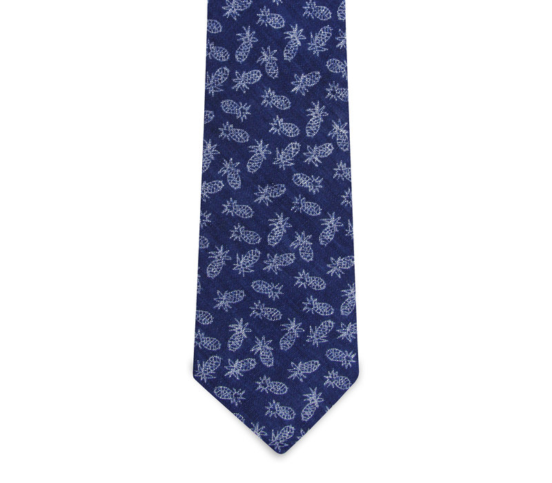 The Marco Blue Pineappe Tie