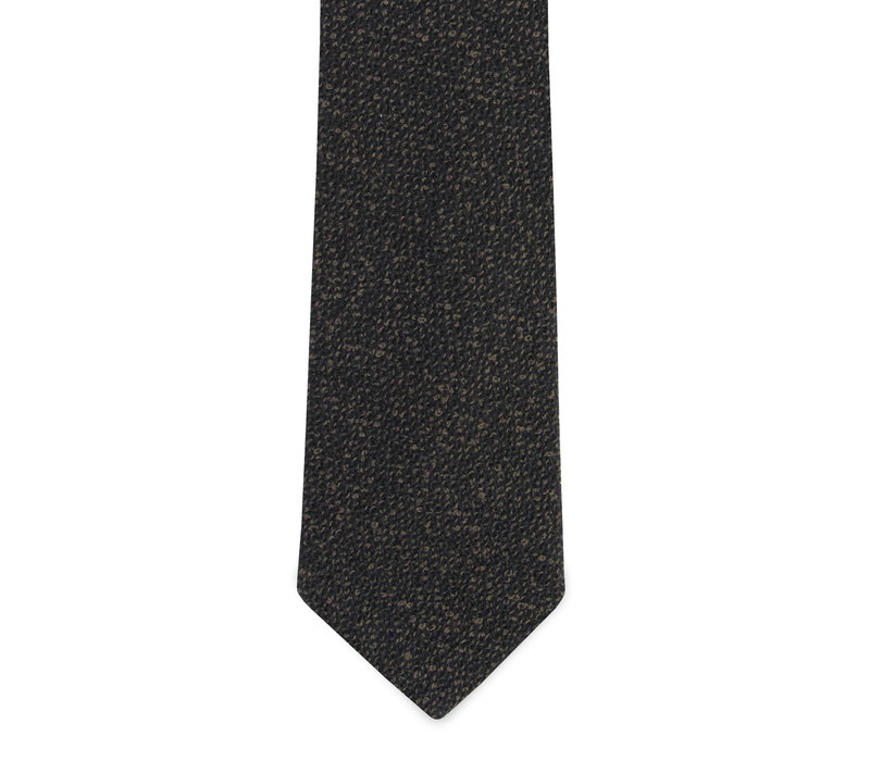 The Monti Charcoal Tie