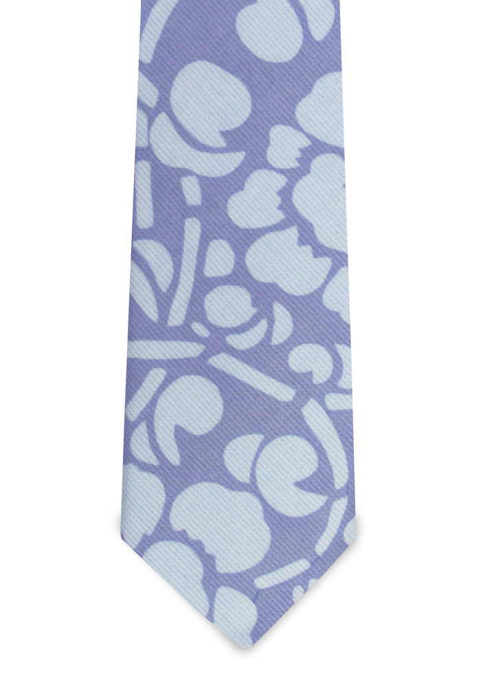 The Isaac Light Blue Floral Tie