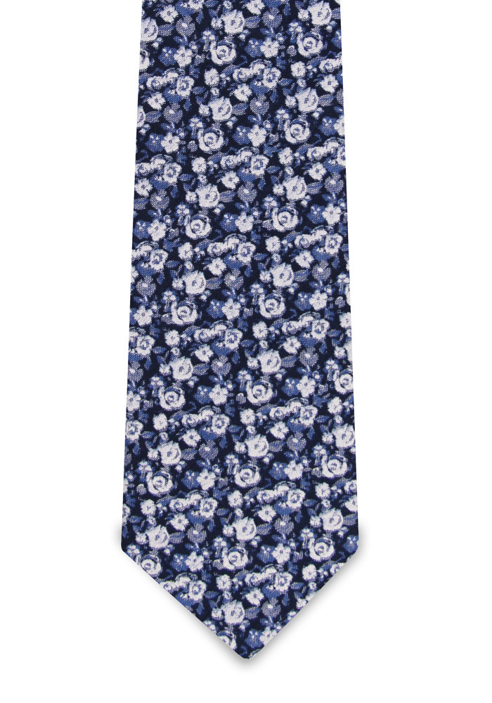 The Julian Blue Floral Tie