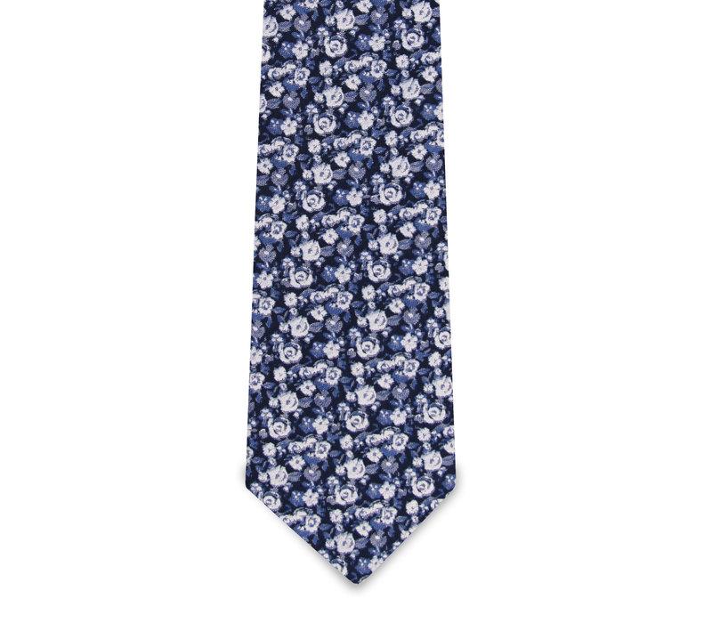 The Julian Blue Floral Tie