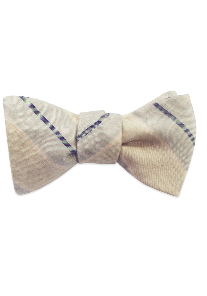The Joseph Striped Bow Tie