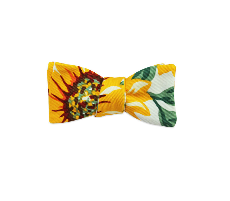 The Laila Sunflower Bow Tie