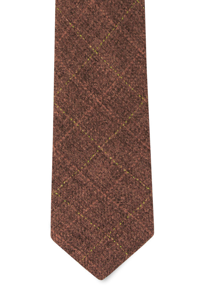 The Ladd Brick Red Tie