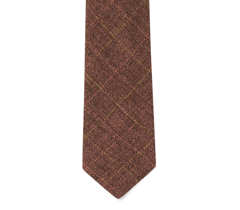 The Ladd Brick Red Tie