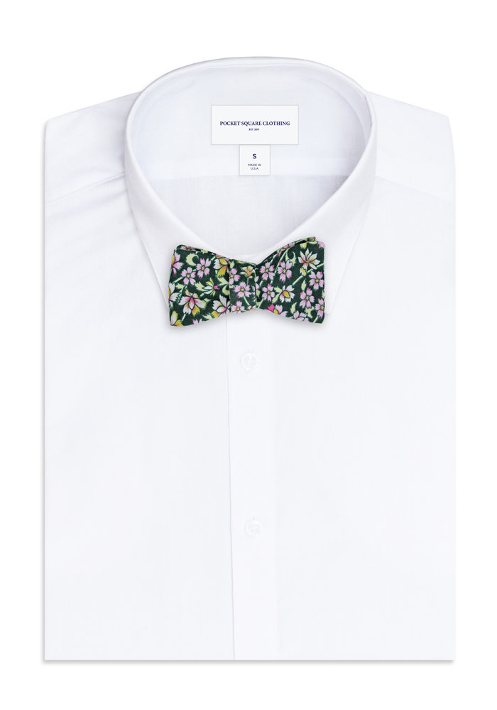The Atkins Floral Bow Tie