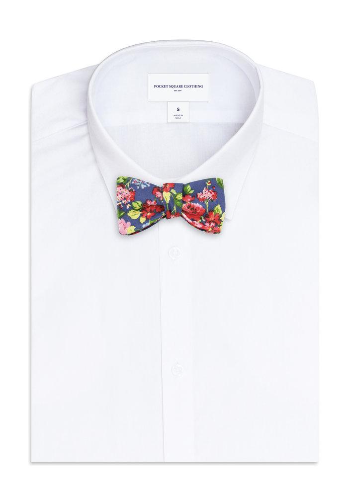 The Walton Floral Bow Tie