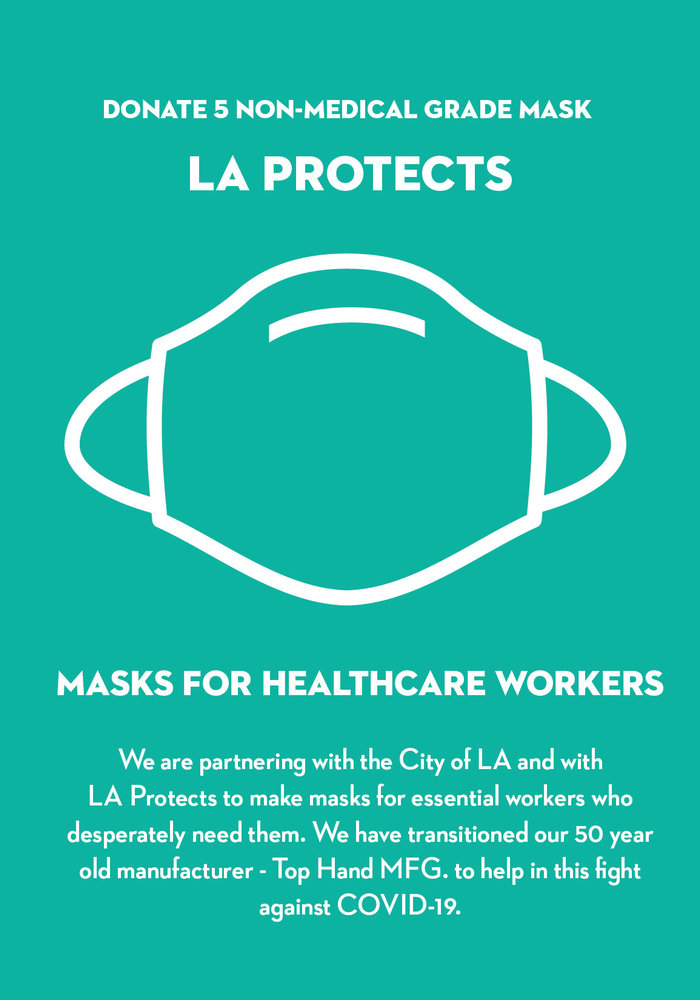 Donate LA Protects Mask - Pack of 5