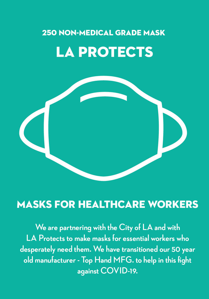 LA Protects Mask - Pack of 250