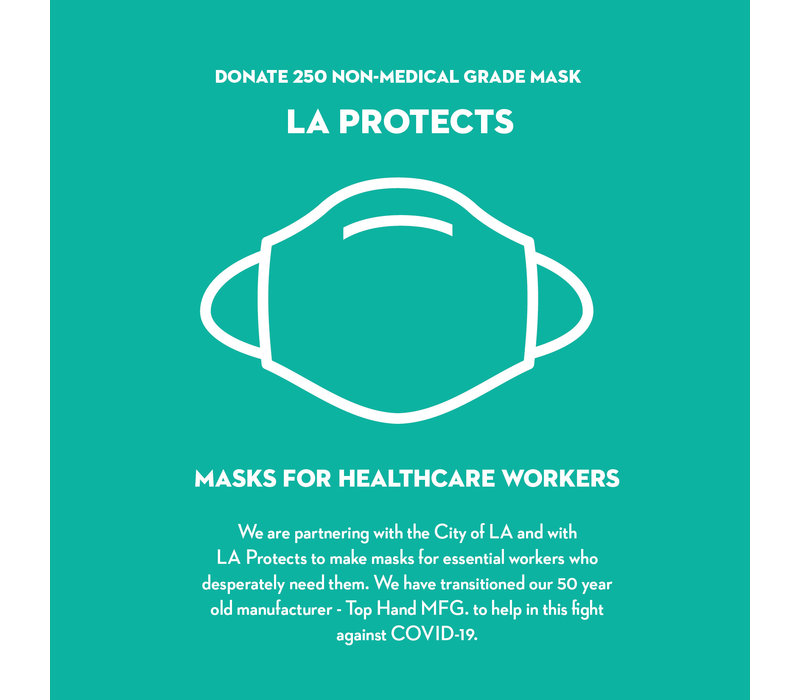 Donate LA Protects Mask - Pack of 250