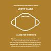 Pocket Square Clothing Donate 2 Unity Masks w/ Filter Pocket