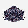 Pocket Square Clothing Unity Mask w/ Filter Pocket (Navy/Floral)