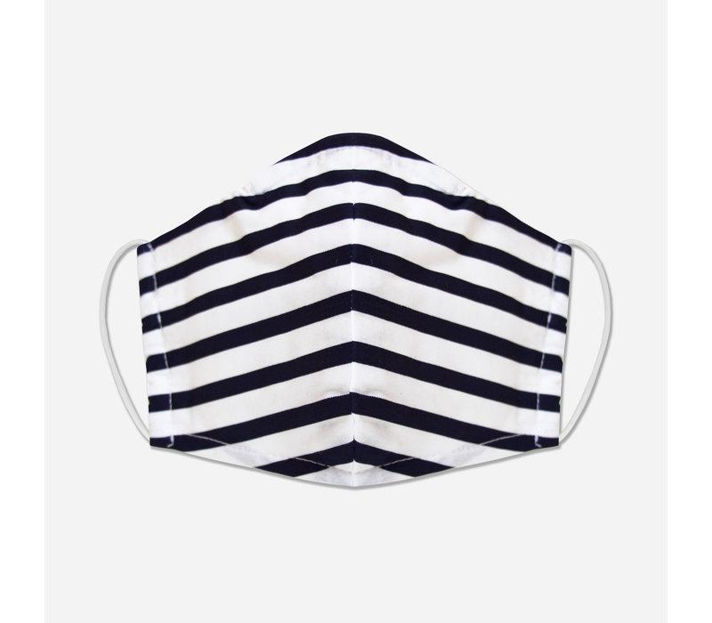 Unity Mask w/ Filter Pocket (Navy/Stripe)